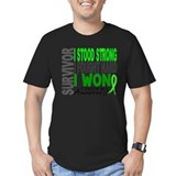 Non hodgkin lymphoma Fitted Dark T-Shirts