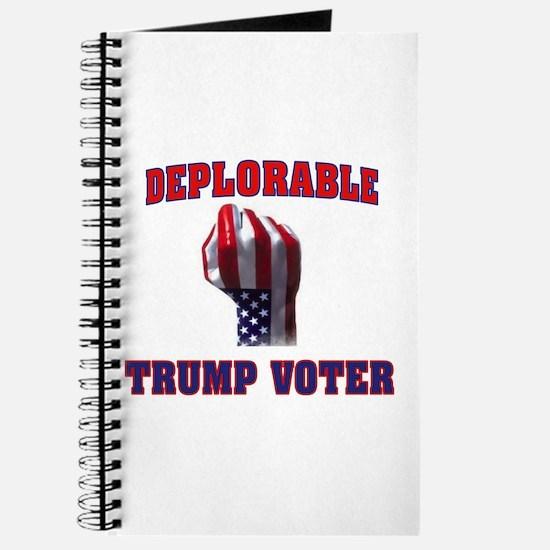 DEPLORABLE TRUMP VOTER Journal