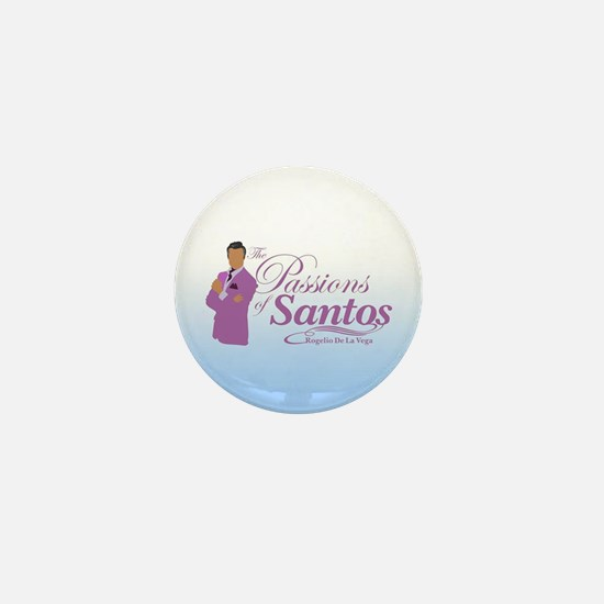 Passions Of Santos Mini Button