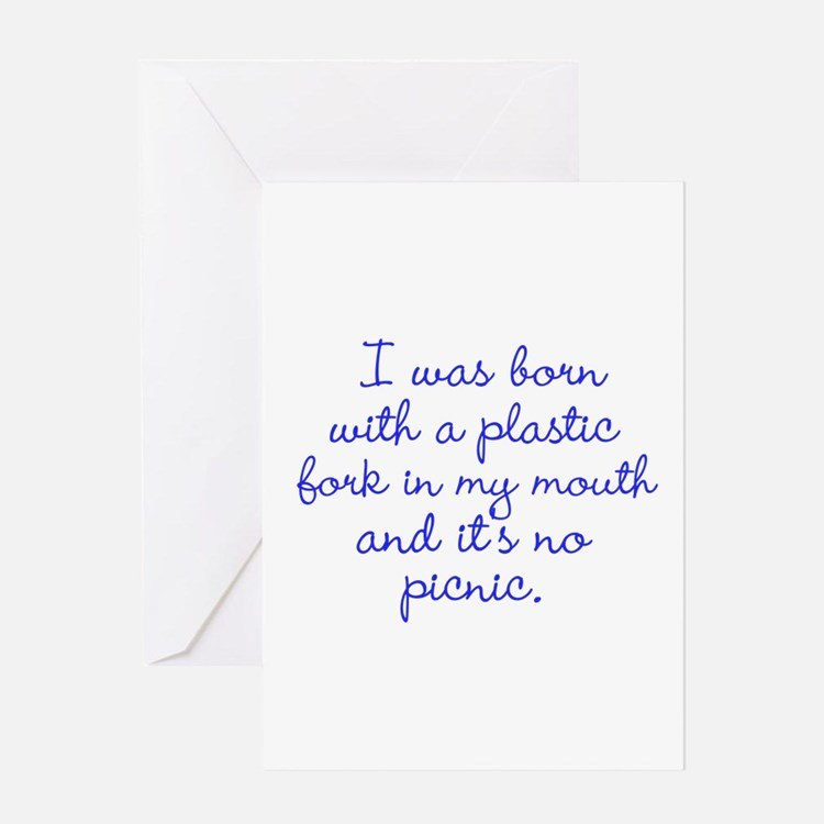 Not a Picnic Greeting Cards