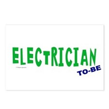 Electrician To Be Postcards (Package of 8)