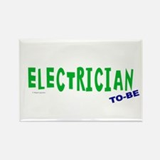 Electrician To Be Rectangle Magnet