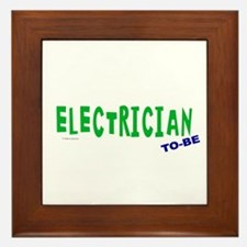 Electrician To Be Framed Tile