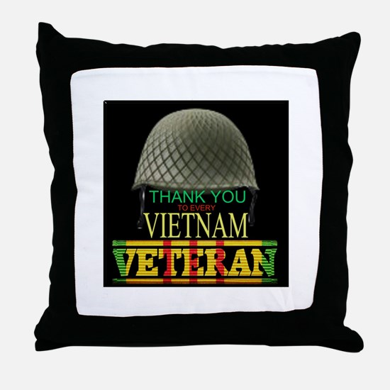 Thank A Viet Vet Throw Pillow