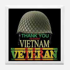 Thank A Viet Vet Tile Coaster