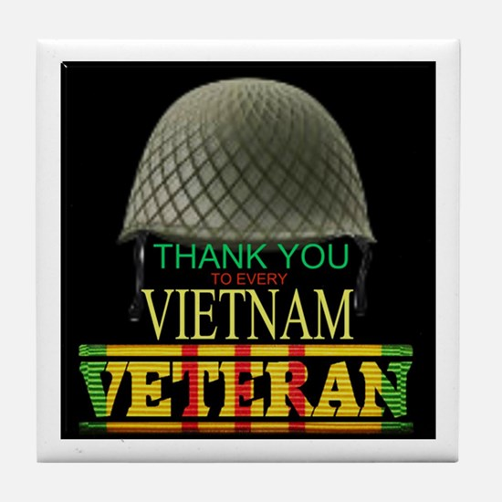 Thank A Viet Vet Tile Coaster