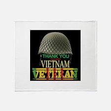 Thank A Viet Vet Throw Blanket