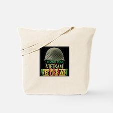 Thank A Viet Vet Tote Bag