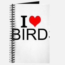 I Love Birds Journal