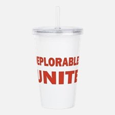 DEPLORABLES UNITE Acrylic Double-wall Tumbler