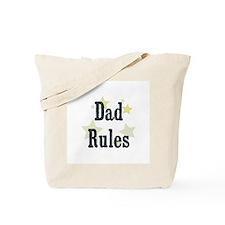 Dad Rules Tote Bag
