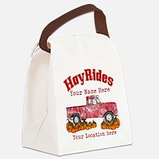 Custom Hay Rides Canvas Lunch Bag