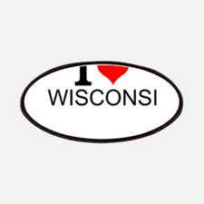 I Love Wisconsin Patch