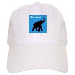 iElephant Baseball Cap