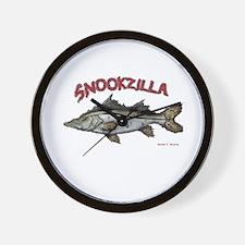 Snookzilla Wall Clock