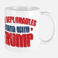 Deplorables Stand With Trump Mug