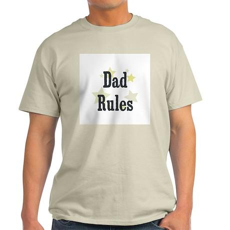 Dad Rules Light T-Shirt