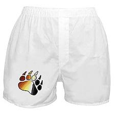 BEAR PRIDE PAWS/TONES Boxer Shorts
