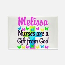 BLESSED NURSE Rectangle Magnet