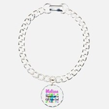 BLESSED NURSE Charm Bracelet, One Charm