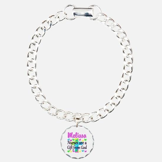 BLESSED NURSE Charm Bracelet, One Charm