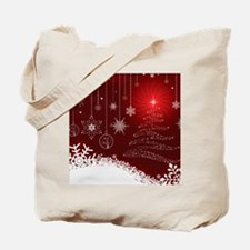 Decorative Christmas Ornamental Snowflake Tote Bag