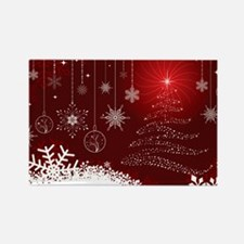 Decorative Christmas Ornamental Snowflakes Magnets