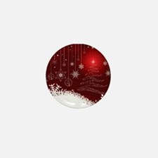 Decorative Christmas Orname Mini Button (100 pack)