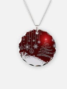 Decorative Christmas Ornamen Necklace
