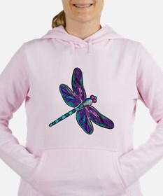 Unique Dragonfly Women's Hooded Sweatshirt