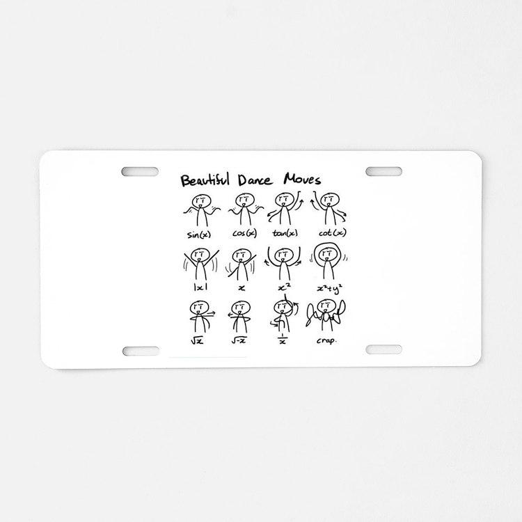 Cute Mind game Aluminum License Plate