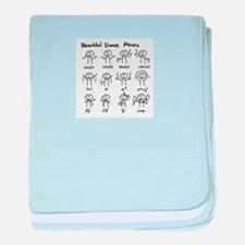 Cute Science mind baby blanket
