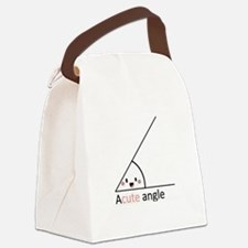 Acute Angle Canvas Lunch Bag
