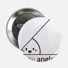 "Acute Angle 2.25"" Button (10 pack)"