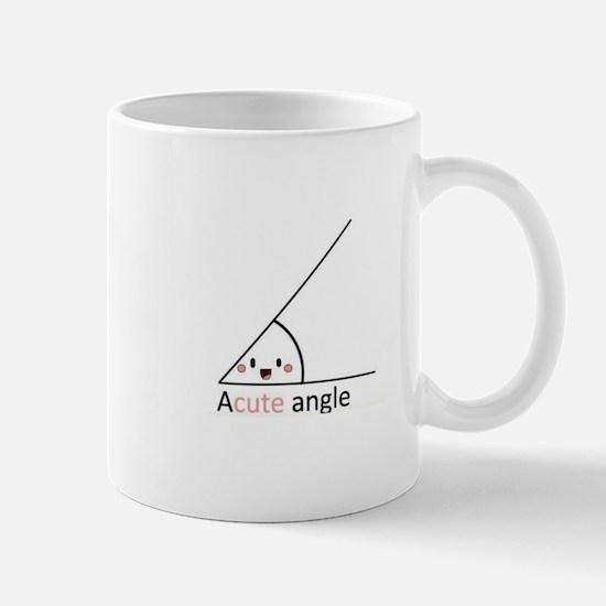 Acute Angle Mugs