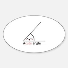 Acute Angle Decal