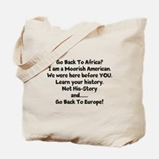 Go Back To Africa Tote Bag