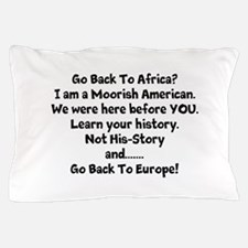 Go Back To Africa Pillow Case