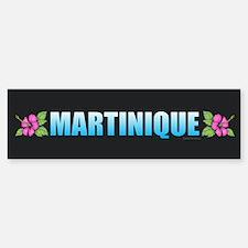 Martinique Bumper Bumper Bumper Sticker