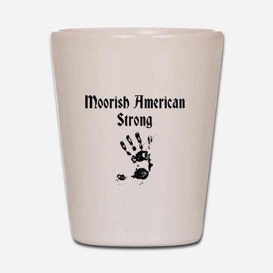Moorish American Strong Shot Glass