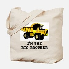 Im the Big Brother Dump Truck Tote Bag