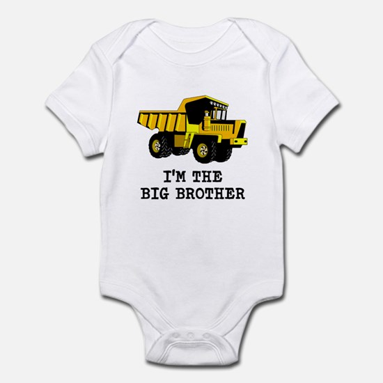 Im the Big Brother Dump Truck Body Suit