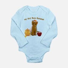 Baby's first Rosh Hash Long Sleeve Infant Bodysuit