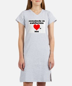Cute I love los angeles Women's Nightshirt