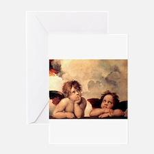 Cherubim - Raphael Greeting Cards