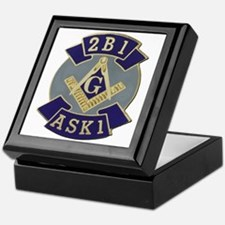 2 B 1 ASK 1 Keepsake Box