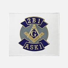 2 B 1 ASK 1 Throw Blanket