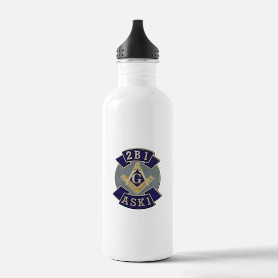 2 B 1 ASK 1 Water Bottle