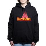 Barcelona city Hooded Sweatshirt