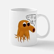Q-Berthulhu No Background Mugs